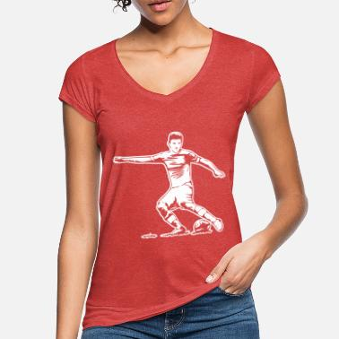 Soccer Player Soccer player / soccer player - Women's Vintage T-Shirt
