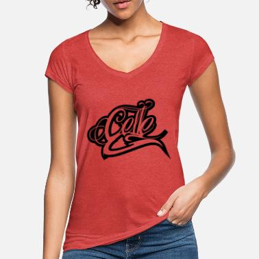 Cell Celle - Vintage T-shirt dam