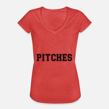 Pitching pitches - Women's Vintage T-Shirt