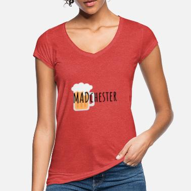 Madchester MADchester Beer - Vintage T-shirt dame