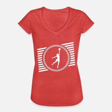 Basketspelare basketspelare - Vintage-T-shirt dam