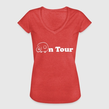On tour - Women's Vintage T-Shirt