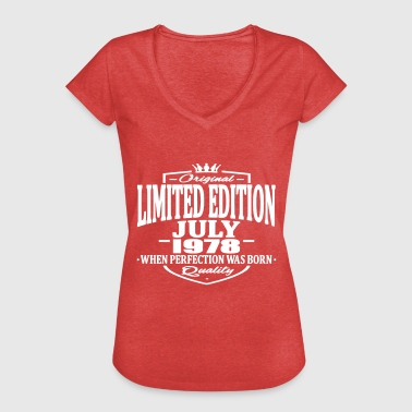 Limited edition july 1978 - Women's Vintage T-Shirt