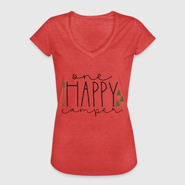Happy Camper Happy Camper Happy Camper - Women's Vintage T-Shirt