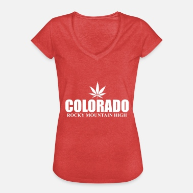 Colorado Colorado - Vintage-T-skjorte for kvinner