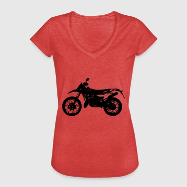 Moto cross - Women's Vintage T-Shirt