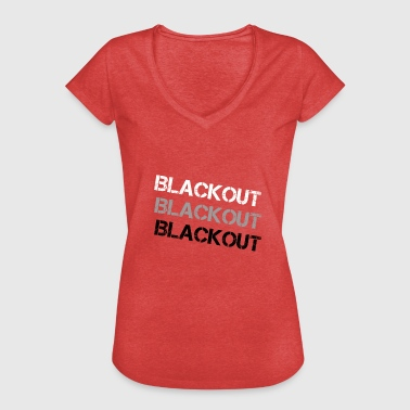Fade Blackout Fade - Camiseta vintage mujer