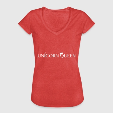 unicorn queen - Frauen Vintage T-Shirt