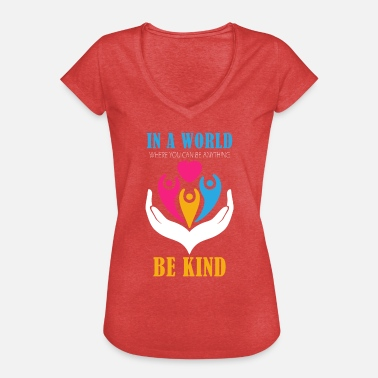 Kidding Be kid - Women's Vintage T-Shirt