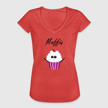 Muffin muffin - Camiseta vintage mujer