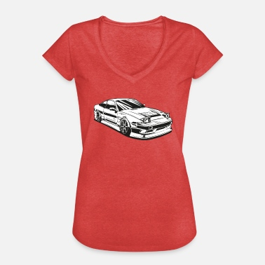 Tuning Tuning - T-shirt vintage Femme