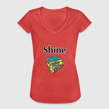 shine - Women's Vintage T-Shirt