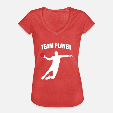 Handball Player Team Player - Handball Player - Handballer - Women's Vintage T-Shirt