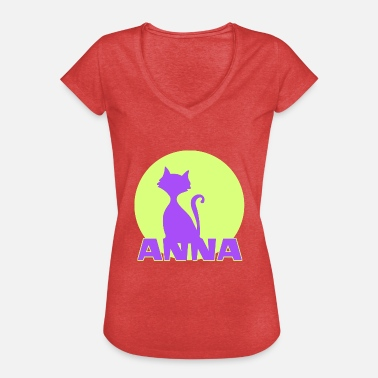 Name Anna Anna First name - Women's Vintage T-Shirt
