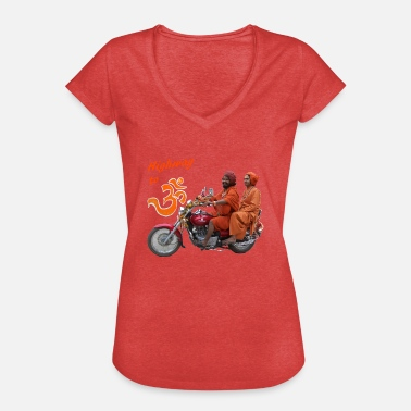 India Highway to OM - Women's Vintage T-Shirt