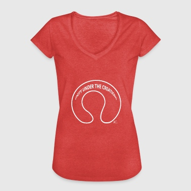 Unity Under The Creations - Vrouwen Vintage T-shirt