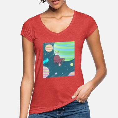 Space kameha - Women's Vintage T-Shirt