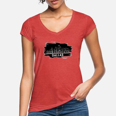 Dallas Cowboys Dallas - Frauen Vintage T-Shirt