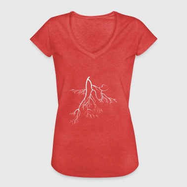 The Roots root - Women's Vintage T-Shirt