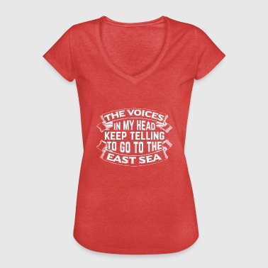 My passion for east sea! - Frauen Vintage T-Shirt