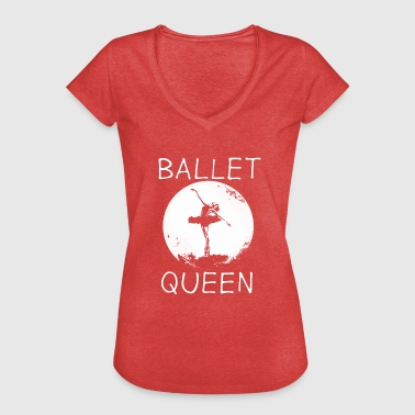Moon Dance Ballet Dancing Queen Moon - Women's Vintage T-Shirt