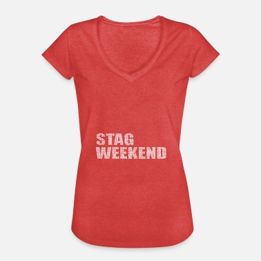 Weekend Bachelor Party Weekend Stag Bachelor - Women's Vintage T-Shirt