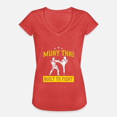 Thai Sprache Muay Thai - Frauen Vintage T-Shirt