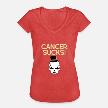 Cancer Suger Cancer suger - Vintage-T-shirt dam