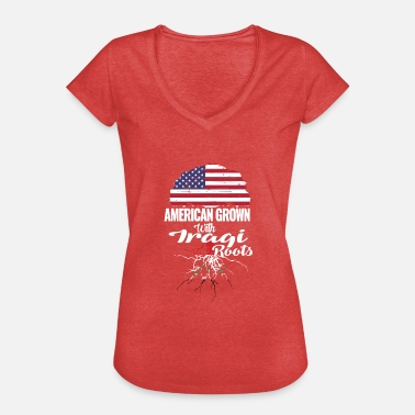 Iraqi American grown - Iraqi roots - Women's Vintage T-Shirt