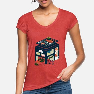 Old School Food food factory - Women's Vintage T-Shirt