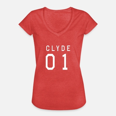 Partnershirts Clyde Shirt Bonnie & Clyde Partnershirt - Frauen Vintage T-Shirt