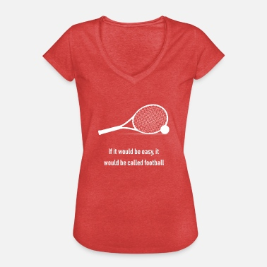 Funny Tennis Funny tennis design - Women's Vintage T-Shirt