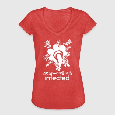 infected wite - Women's Vintage T-Shirt