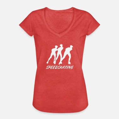 Grupper Speedskating grupp - Vintage-T-shirt dam