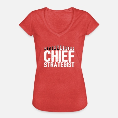 Chiefs King Chief Strategist Chess Master Gift - Women's Vintage T-Shirt