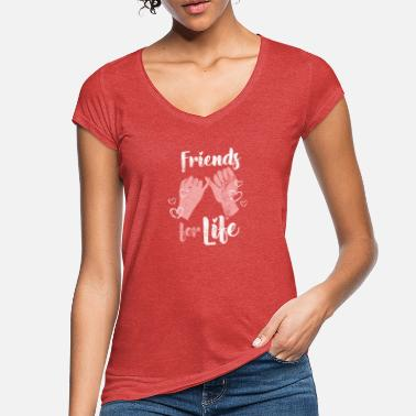 Forever Friendship forever friends - Women's Vintage T-Shirt