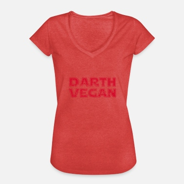 Geek Darth Darth Vegan Gift - Women's Vintage T-Shirt