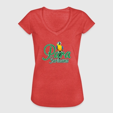 District of Para - Women's Vintage T-Shirt