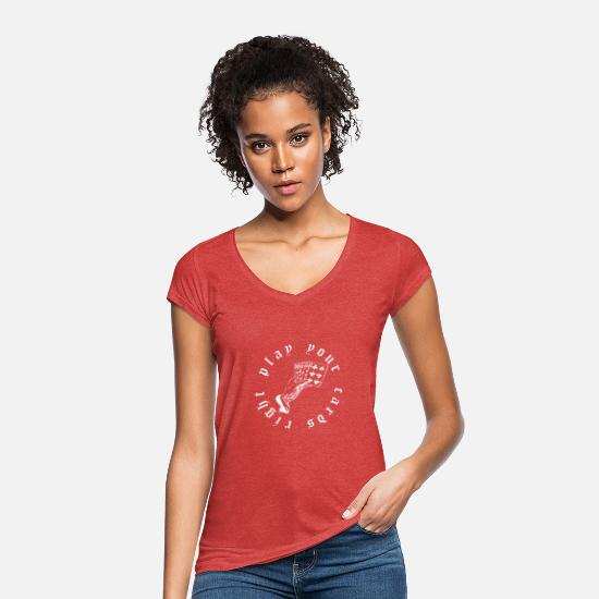 Gift Idea T-Shirts - cards - Women's Vintage T-Shirt heather red