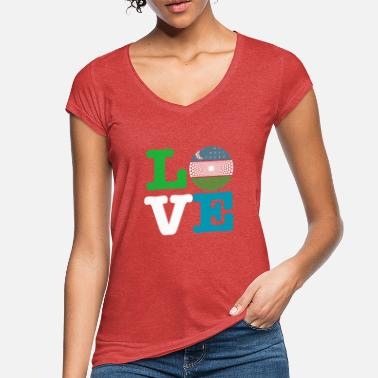Heat HEATING - Women's Vintage T-Shirt
