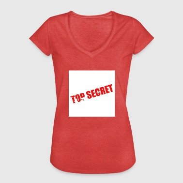 Top secret - T-shirt vintage Femme