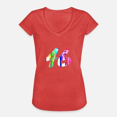 46 Birthday 46 - Women's Vintage T-Shirt