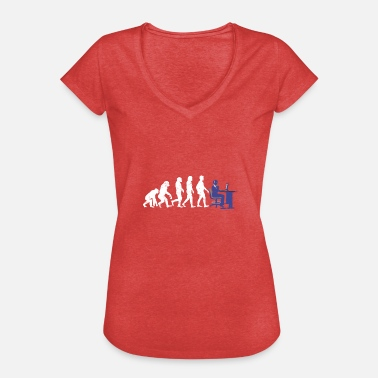 Call Center Agente de Evolution Call Center - Camiseta vintage mujer