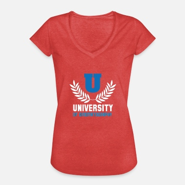 Sektor Universität 5 - Frauen Vintage T-Shirt