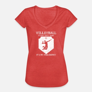 Cram Volleyball cram life philosophy - Women's Vintage T-Shirt