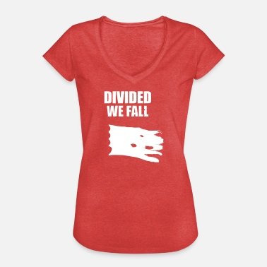 Divided Divided We Fall - Maglietta vintage donna