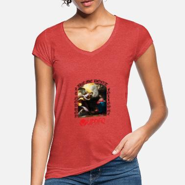 Streetwear ANNUNCIATION don t follow me - Vrouwen vintage T-Shirt
