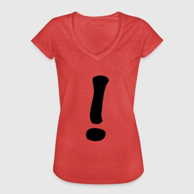 Exclamation Mark exclamation mark - Women's Vintage T-Shirt