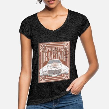 Tuning Vendredis pour Racing Auto Tuning Tuning Tuning - T-shirt vintage Femme