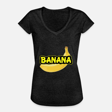 Banana Comic Banana Fruit Fruit Comic Design - Women's Vintage T-Shirt